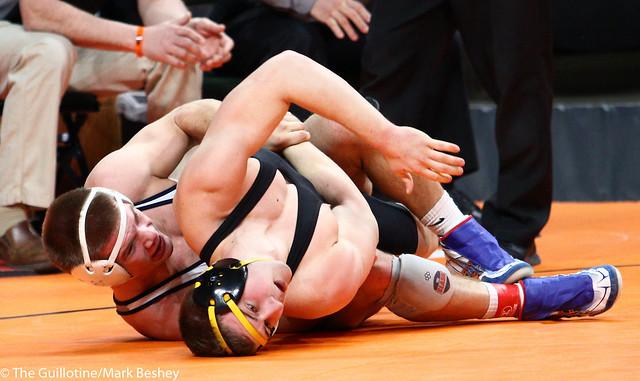 182A - Semifinal - Caden Steffen (Zumbrota-Mazeppa) 42-4 won by fall over Josh Soine (New London-Spicer) 33-8 (Fall 3:30)