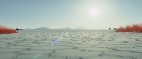 Star Wars: The Last Jedi..The planet Crait..Photo: Film Frames Industrial Light & Magic/Lucasfilm..©2017 Lucasfilm Ltd. All Rights Reserved.