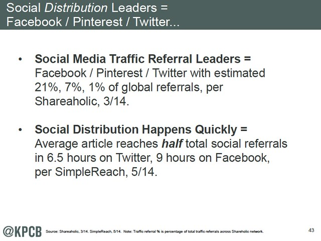social distribution leaders