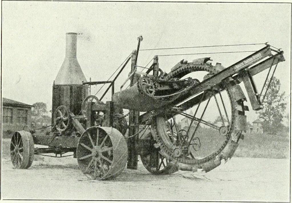 Buckeye Traction Ditcher