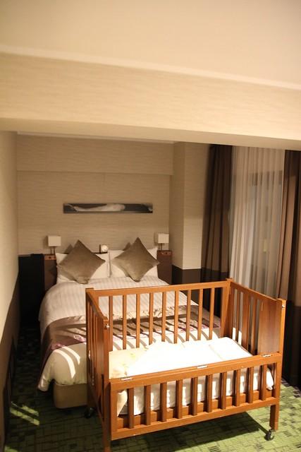 飯店提供免費的嬰兒床