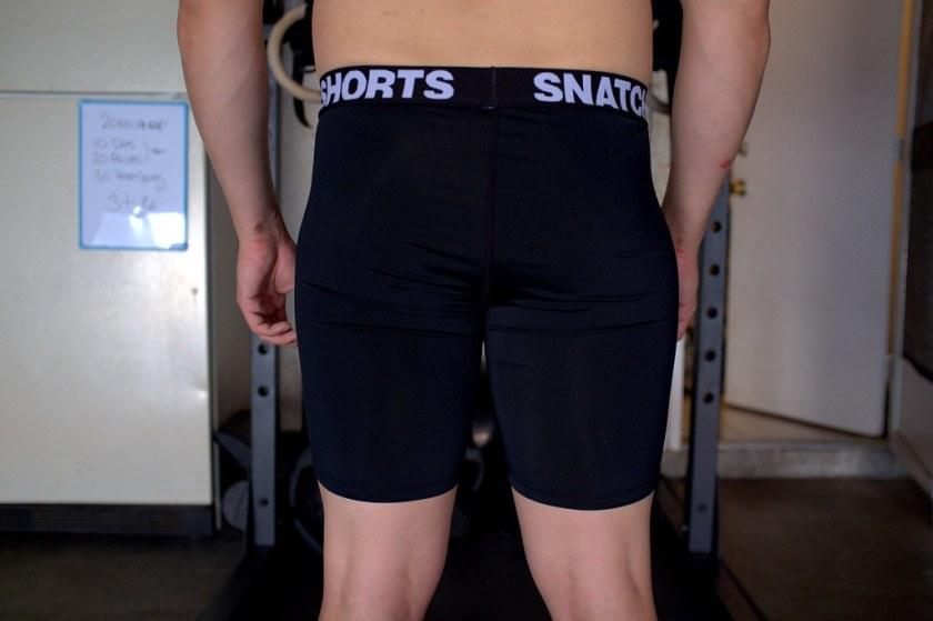 Snatch Shorts Back