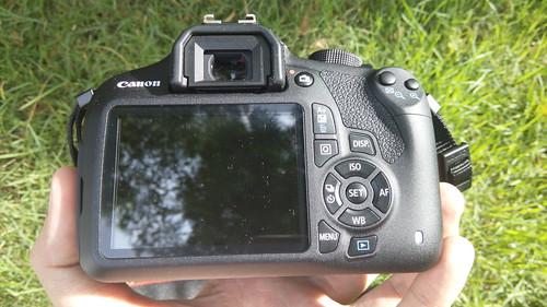 Canon EOS1200D ด้านหลัง