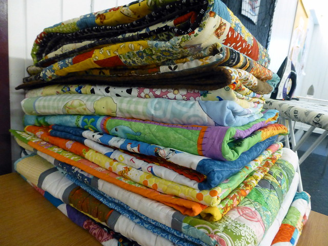 Bee Blessed donated quilts