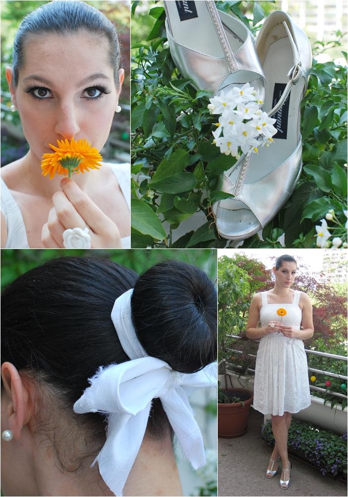 Hochzeit Make Up Frisur Outfit