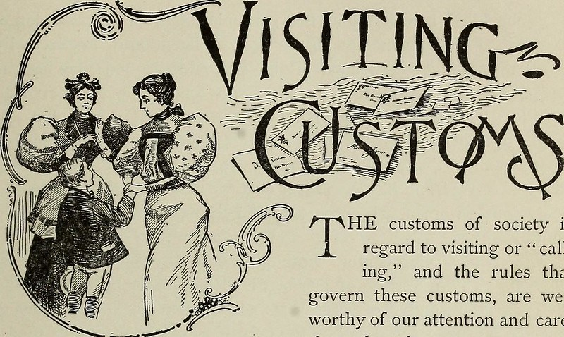 """Image from page 78 of """"Twentieth century culture and deportment, or, The lady and gentleman at home and abroad : containing rules of etiquette for all occasions ..."""" (1899)"""