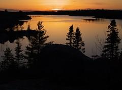 Susies Lake Sunset