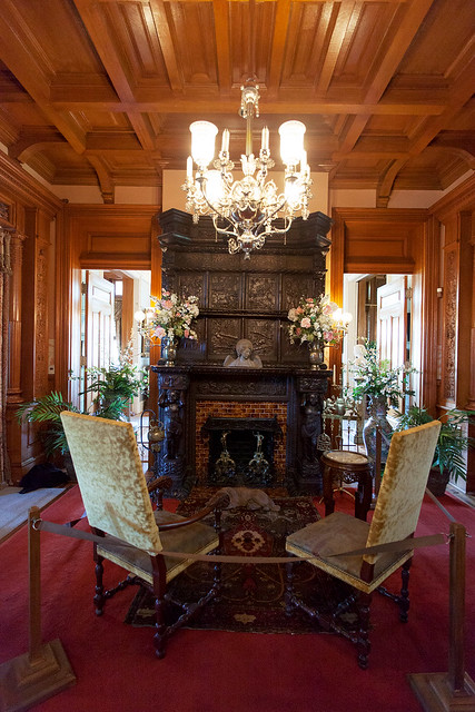 The Fireplace at Maymont Mansion