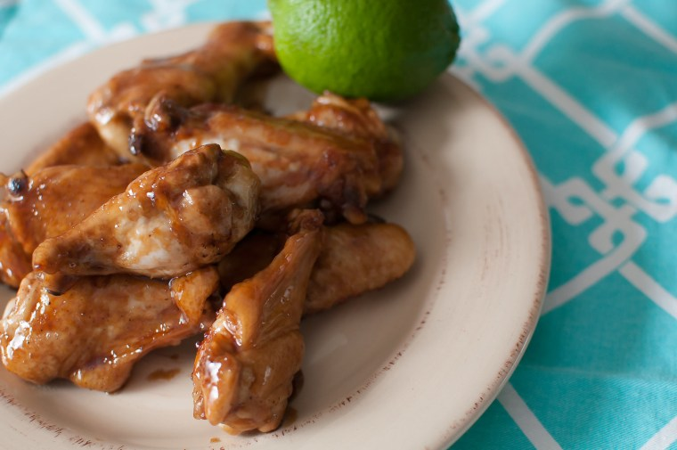 Sticky Asian Wings 2