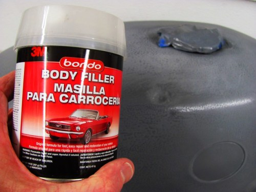 Body Filler for Dents