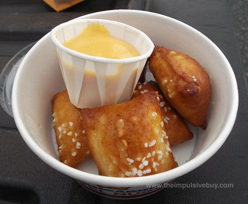 Arby's Auntie Anne's Cheddar Pretzel Nuggets