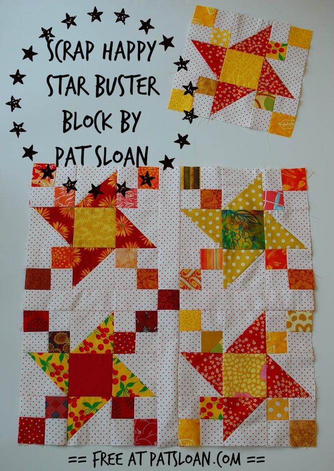Pat Sloan's QuiltersHome Pat Sloan's Free Patterns