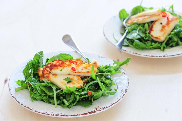 halloumi salad-2