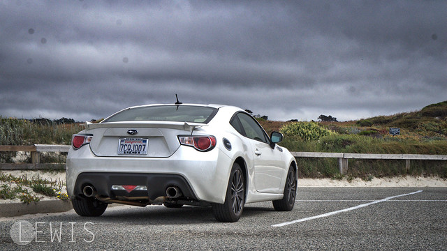 Subaru BRZ Nameless Axleback rear beach