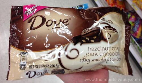 Dove Hazelnut Crisp Dark Chocolate Silky Smooth Promises (Exclusive Flavor)