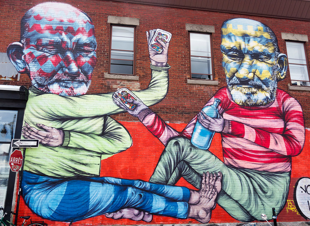 Playing Cards - Mural