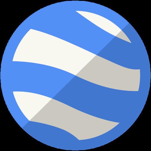 New Google Earth Logo/ Wikimedia Commons