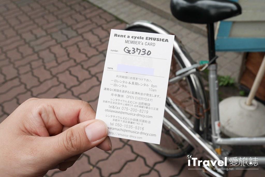 京都脚踏车出租 Rent a cycle EMUSICA (13)