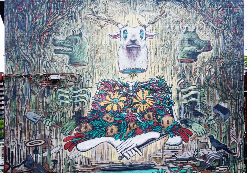 Deer Hunter - Mural