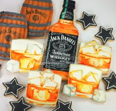 JD shortbread cookies