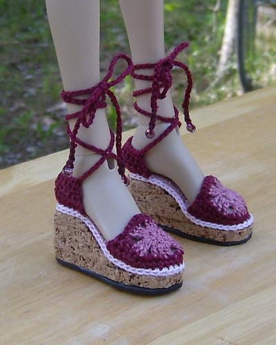 Tri-Color Sandals