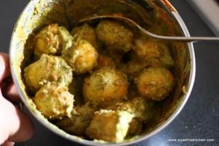 Marinated-potatoes