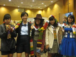 FemDoctors and the TARDIS.