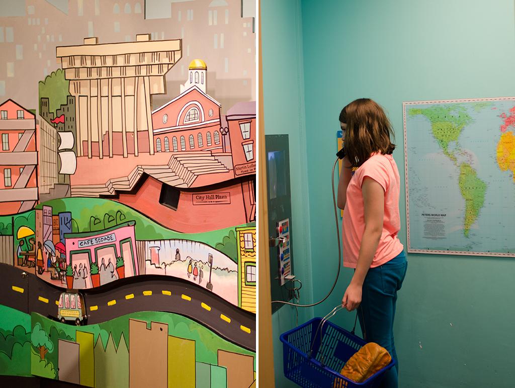 store exhibit collage