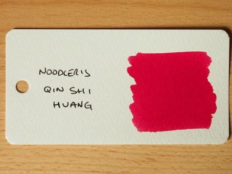 Noodler's Qin Shi Huang - Ink Review - Word Card