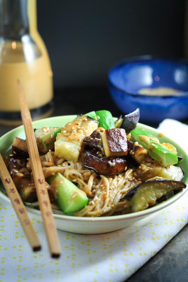 otsu sesame noodles [ inthiskitchen.com ]