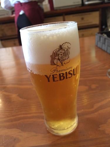 ランチビール+300円@アカツカ