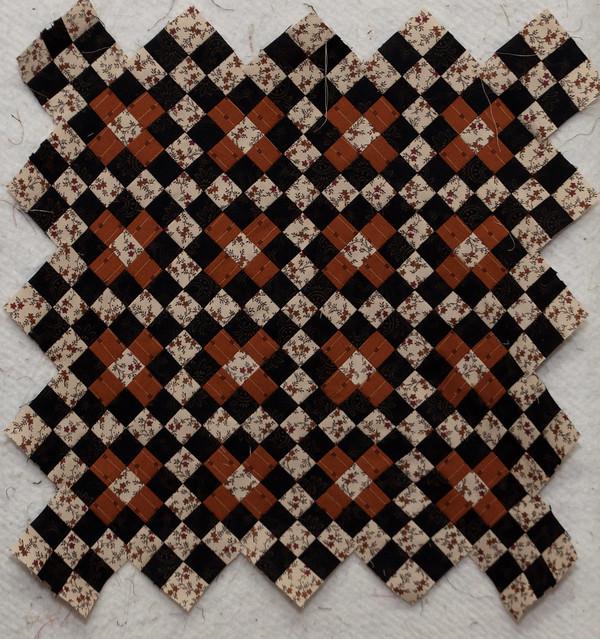 Jo's quilt Journey 13 9-Patch Chain