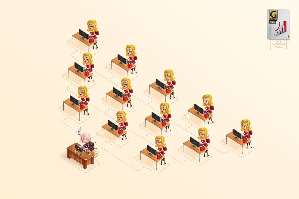 Gestion Magazine - Blond Competition