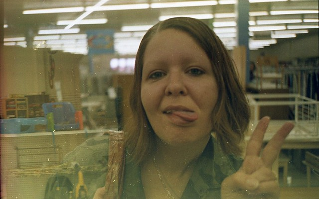 Found Film:  Shopping at Goodwill