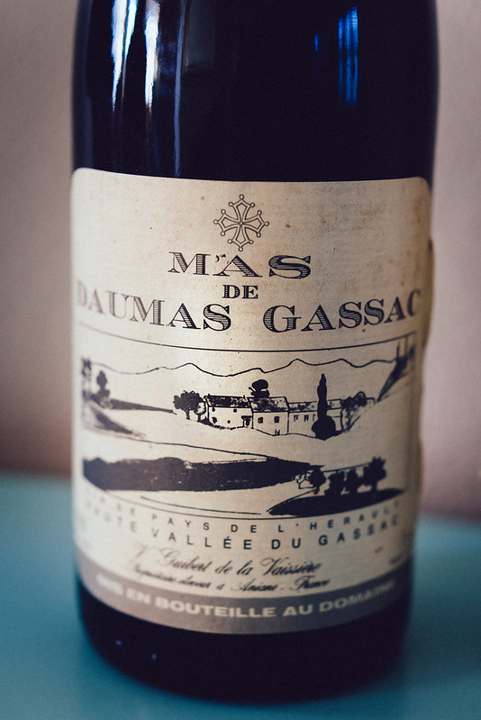 Oude wijnen en Hollandse kazen: Mas de Daumas Gassac 1988