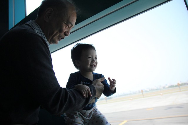 祖父與孫子的美好時光