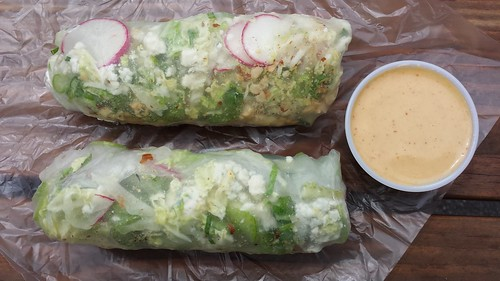 Blue Cheese and Cucumber Salad Roll from GO Cart