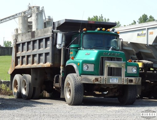 small resolution of mack dm dump truck saunders companies
