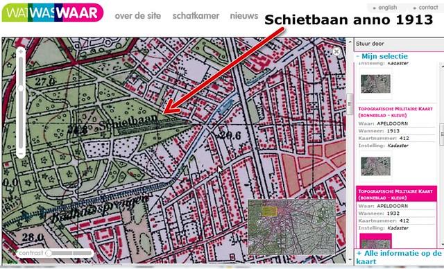 Schietbaan Schuttersweg Apeldoorn 1913