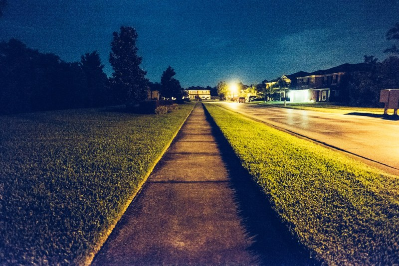 132/365 - Nightly walks home
