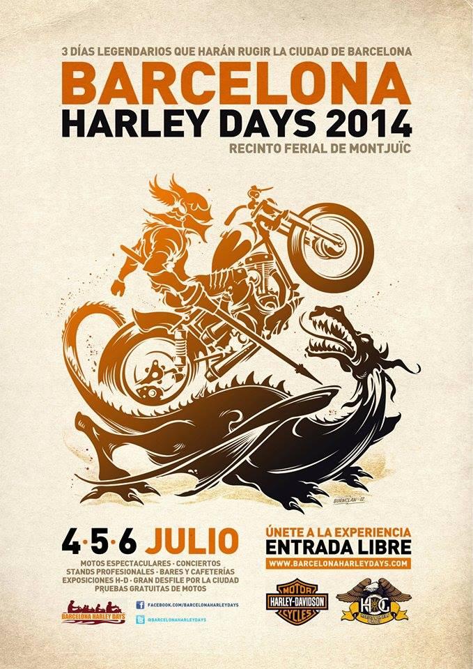 Harley Days - Barcelona