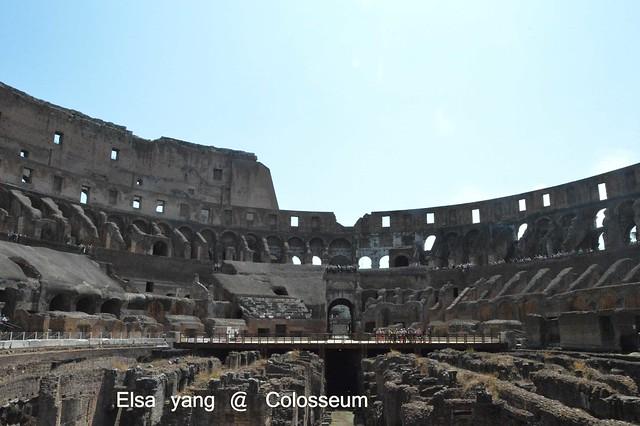 [遊記] 羅馬ROMA。圓形競技場Colosseum,羅馬競技場|君士坦丁凱旋門|景點|義大利|自助旅行 @ ¾ のELSA。菲常好攝 ...
