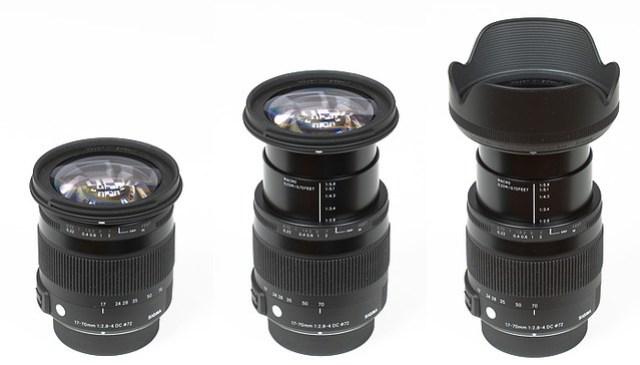 Sigma AF 17-70mm f/2.8-4 DC Macro OS HSM   С