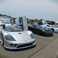 Fast & Exotic American Things At The CF Charities Supercar Show