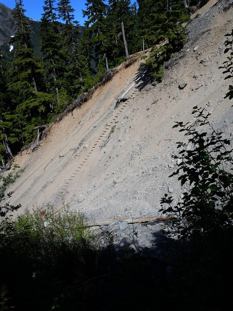 Landslide And Ladder