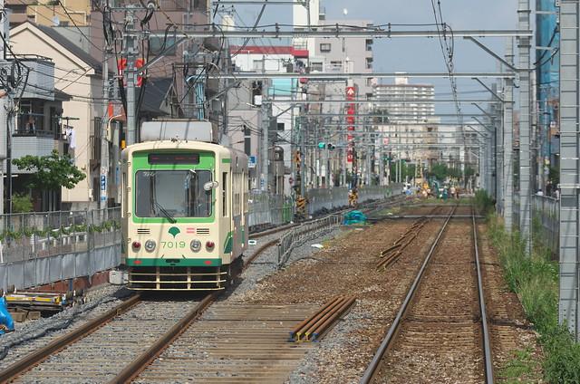【Tokyo Train Story】線路付け替え工事の風景(都電荒川線) | とくとみぶろぐ