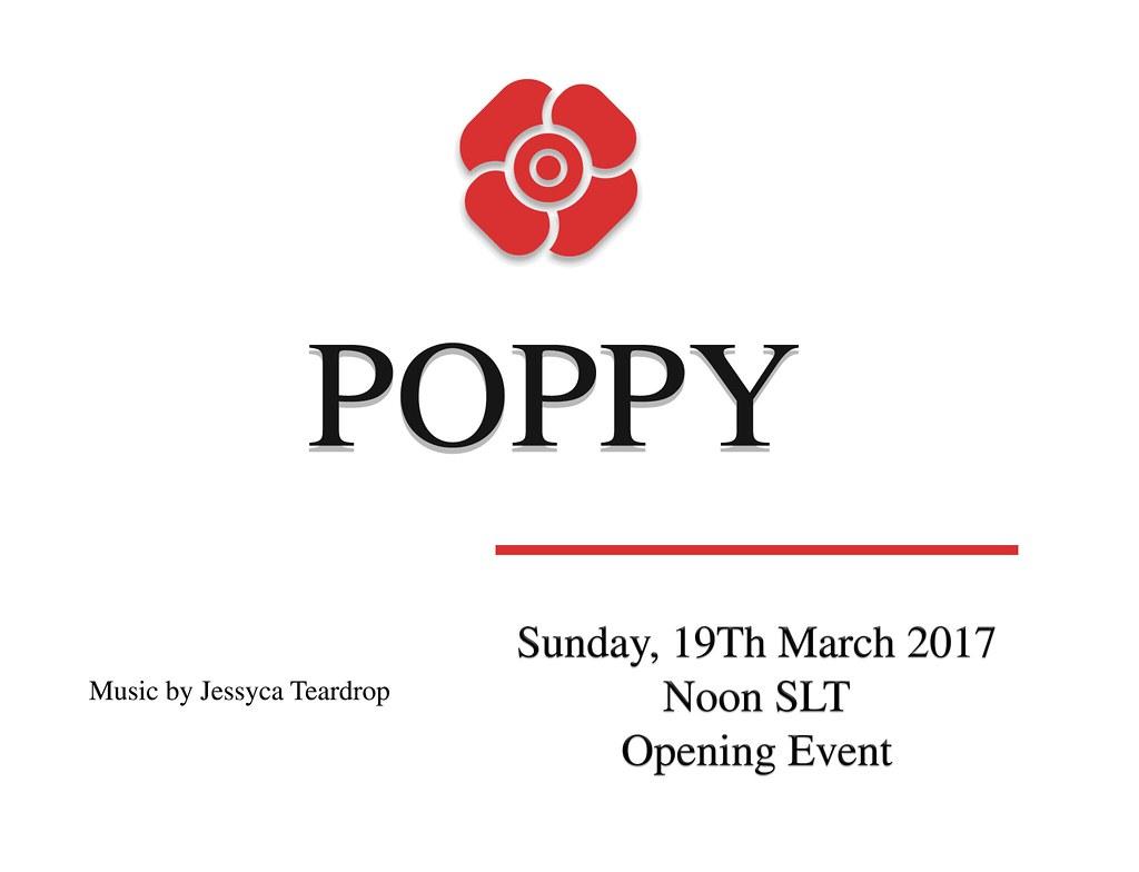 Poppy Grand Opening