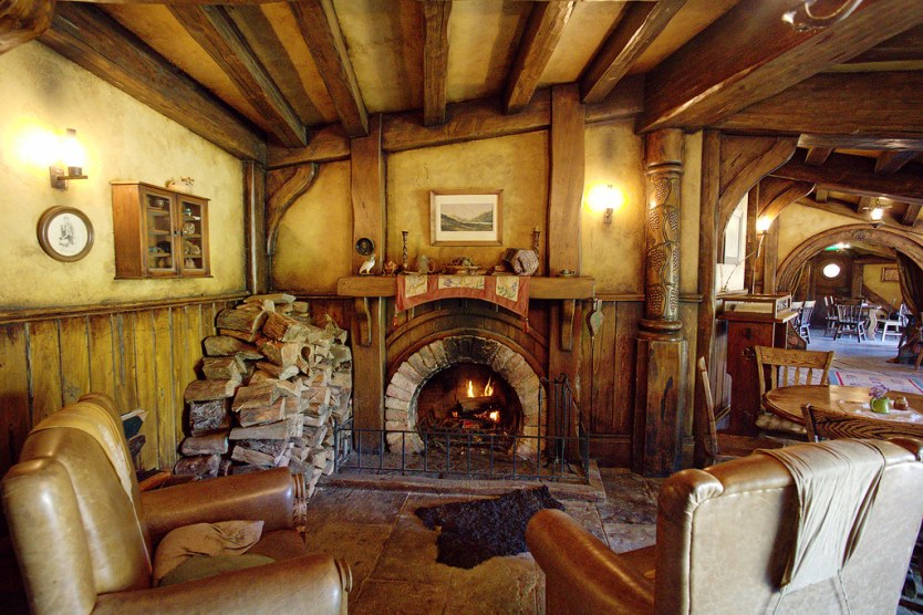 Fancy a warm up in front of the roaring fire in the Green Dragon Inn?