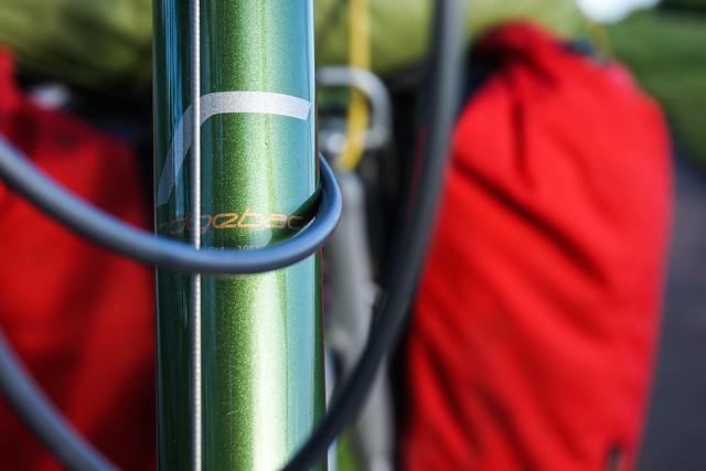 Ridgeback Expedition: head tube branding