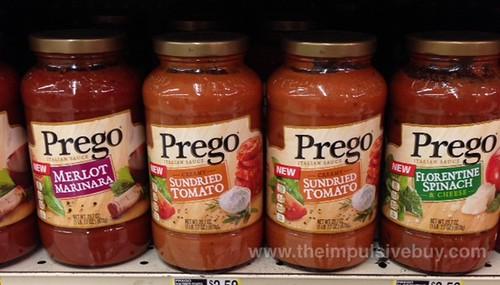 Prego Merlot Marinara, Sundried Tomato, and Florentine Spinach Italian Sauces